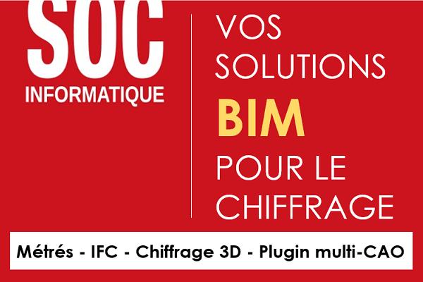 SOC Informatique - Suite logicielle BIM